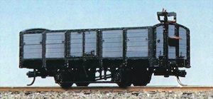 SNCV open wagon