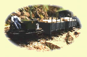 Simplex Loco and wagons